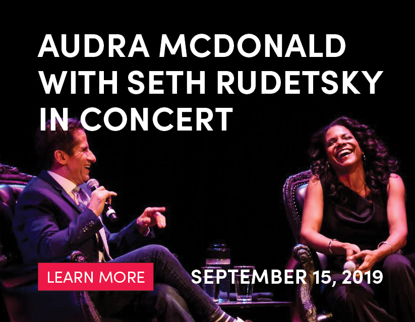 Audra McDonald with Seth Rudetsky in Concert